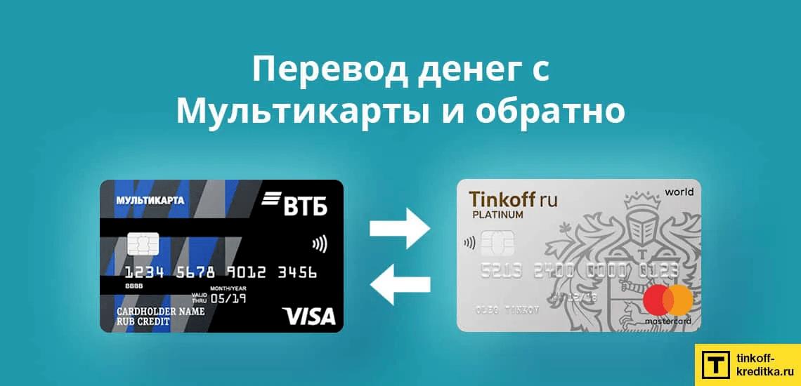 Как переводить деньги с кредитной карты