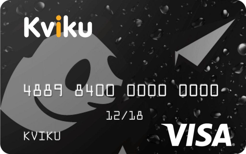 пользоваться кредитной картой kviku